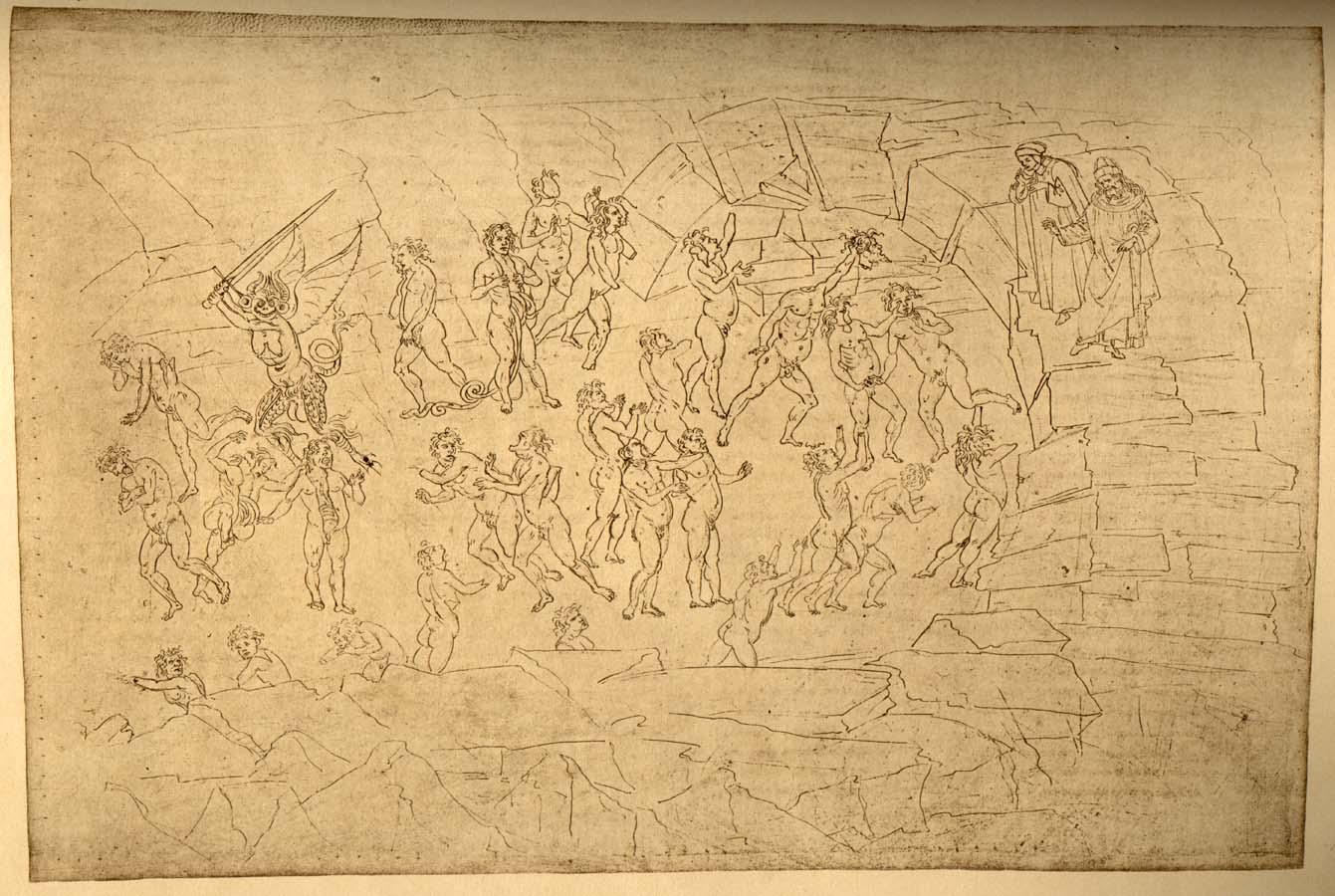 Dante's Inferno - Circle 8, subcircles 7-10 - Gallery Sandro Botticelli Dante Inferno